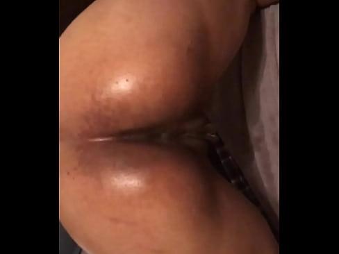 Lesbian butt thong