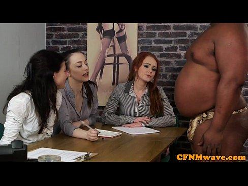 Cfnm Black Cock