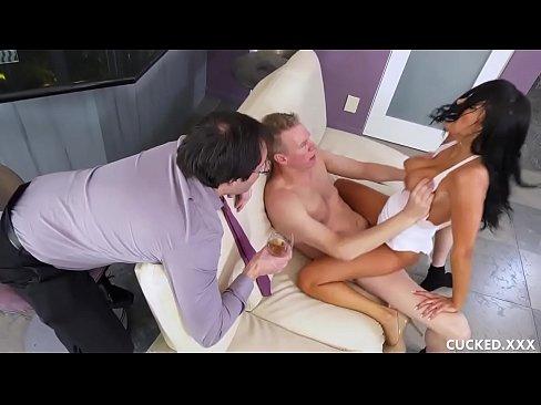 Sofi Ryan's Husband Cannot Pleasure Her So She Seduces His Friend