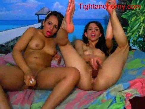 Sexy girls playing on webcam - tightandhorny.com's Thumb