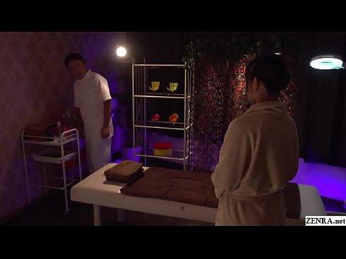 JAV Yuki Jin CMNF big butt erotic massage Subtitled