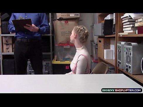 LP Officer Destroys Teen Athenas Pussy So Deep
