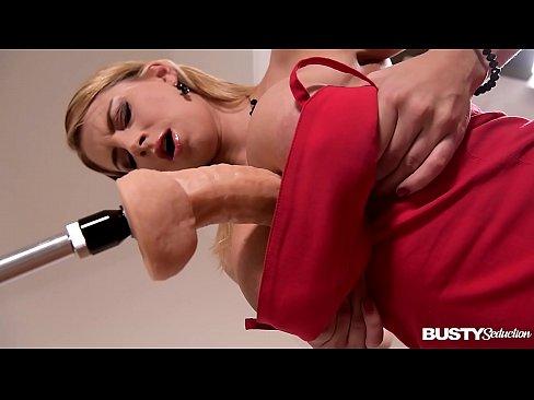 Busty Seduction Katerina Hartlova Orgasms During Hot Fucking Machine Ride