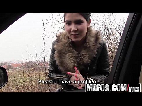 Ролик секс на дороге
