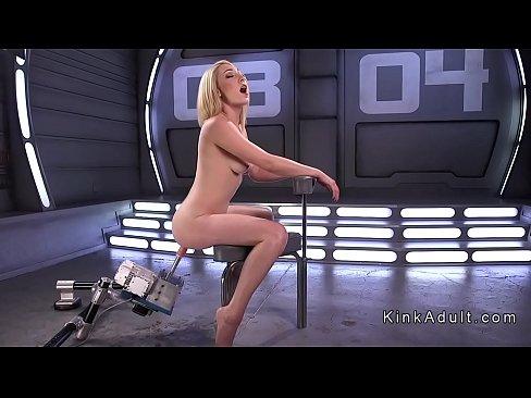 Hirsute blonde bangs speedy machineXXX Sex Videos 3gp