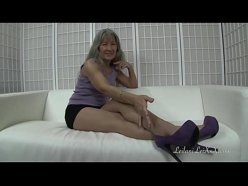 nylon foot worship trailer
