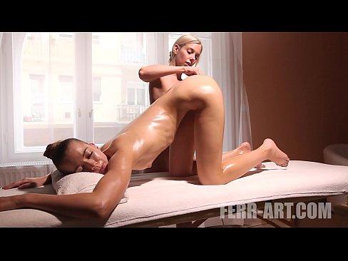 Ebony Lesbian Anal Massage