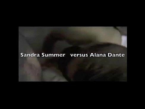 Alana Dante and Sandra Sommers Gang Bang
