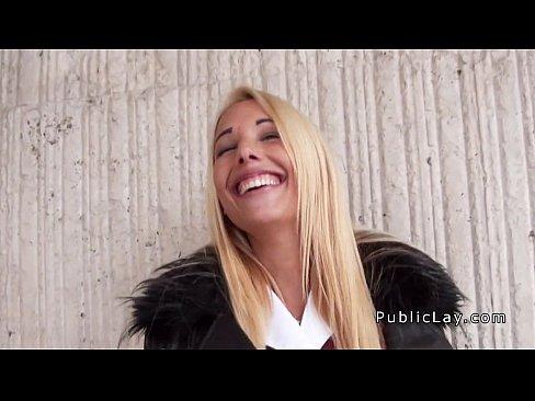 Money blonde talk porn
