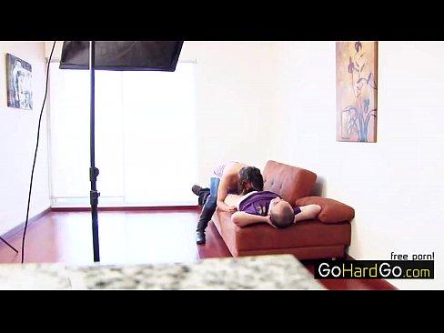 Latina amateur girl casting porn HD