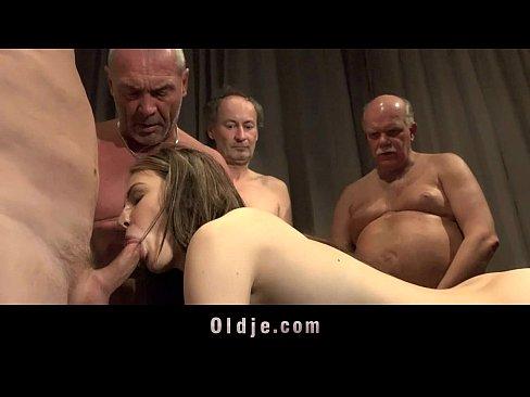 German mature massage