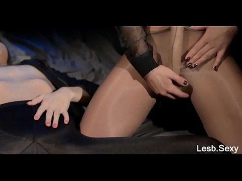 Strapless dildo feeldoe sex from lesbsexy 2