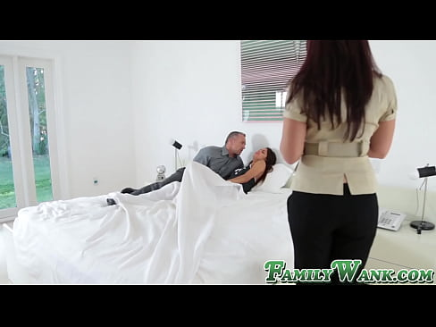 Teenie fucks with daddy and receives big load in mouth