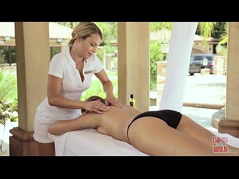 Surprise Massage Pussy Licking