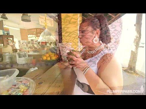 Lovely Exotic BBW Diana Nicole Gets Fucked in Little Havana