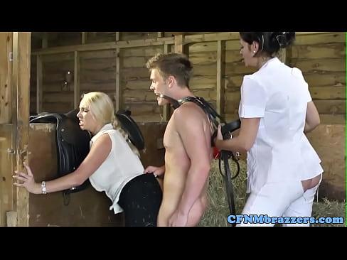 cover video cfnm eurobabes  bang bloke in barn arn arn arn