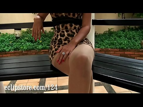 Georgia pantyhose leg tease
