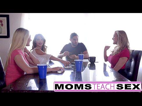 MomsTeachSex – Hot Mom & Teen Friends Orgy Fuck With NeighborXXX Sex Videos 3gp