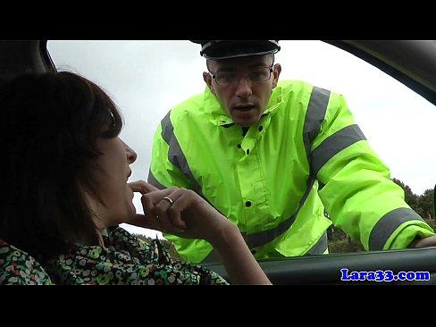 Caught masturbating mature fucks patrol cop