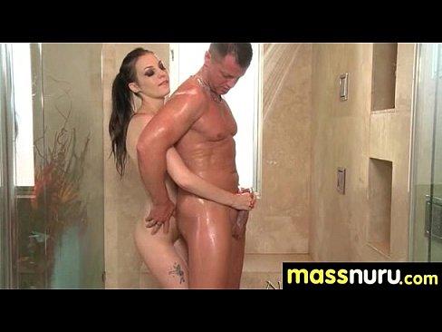 sexy striptease massage nuru