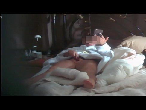 Masturbating on hidden camera
