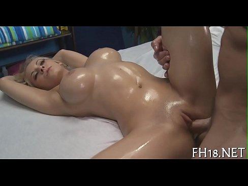 Sexy massage porno