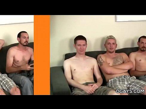 Straight Punk Dudes Join Cum Contest