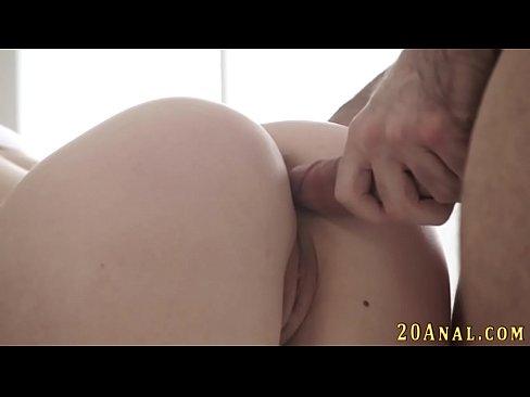 Petite anal slut cumshot