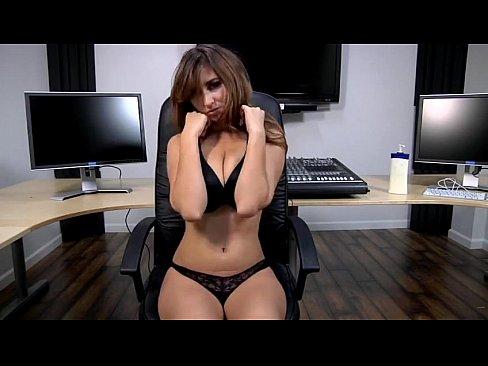 LORRIE: Sexy office strip