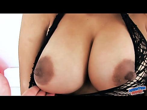 young latina has big natural boobs round ass and gaped pussy