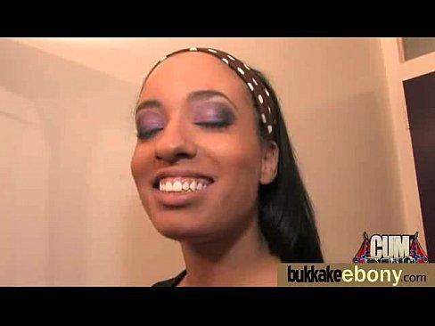 Ebony bukkake pictures