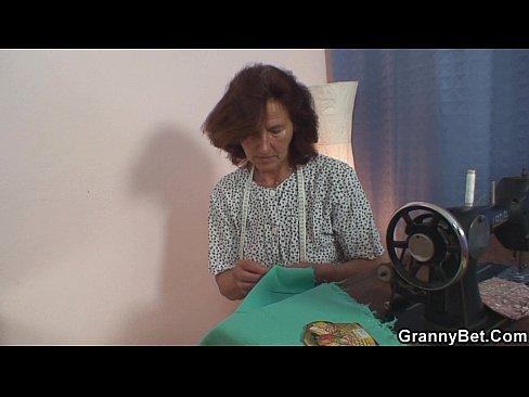 He bangs sewing granny 2