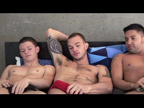 Gay three way