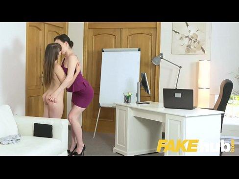 female agent shy french minx in orgasmic dildo fucking casting