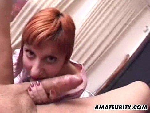 amateur girlfriend sucks and anal in pyjama