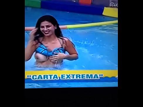 Claudia Ramirez muestra las Tetas en Programa VEXXXX Sex Videos 3gp