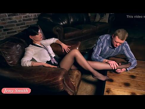XVIDEOS Jeny Smith Foot Fetish no panties upskirt free