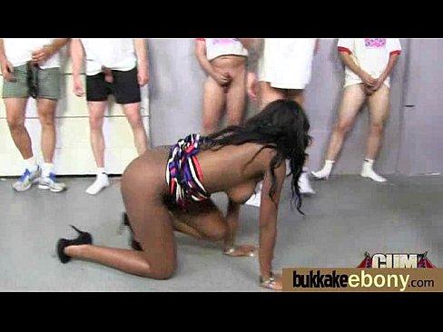 Dark dirty pornstar debut messy bukkake 23