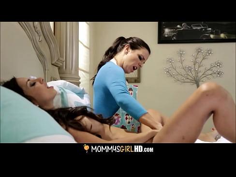 Horny Mom Kobe Lee Fucks Daughter Trinity St. Clair HD