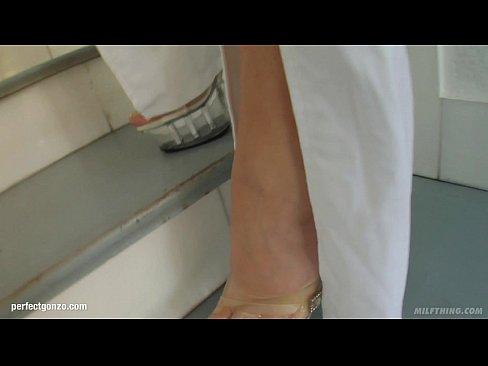 Joana Romain nice milf slut girlfriend fucks at Hot milf Factor