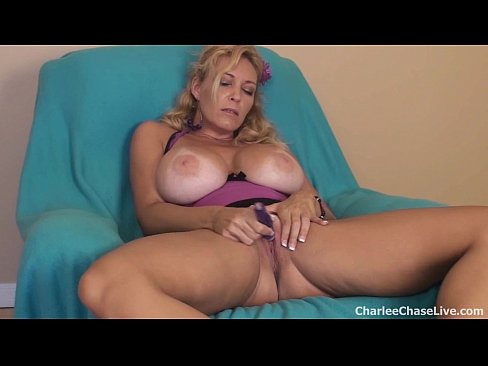 Milf with big dildos