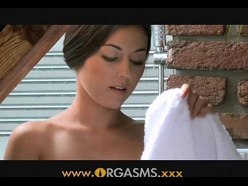 Видео женского оргазм изнутри
