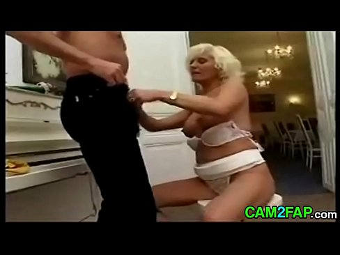 Mature blonde anal porn