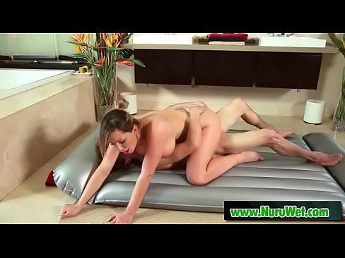 Skinny Blonde Lesbian Massage