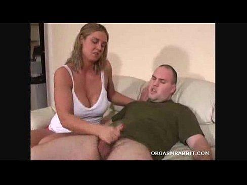 Blonde cream orgasm