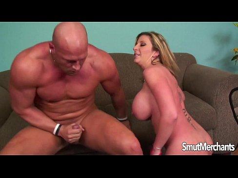 big tittied milf cumshot