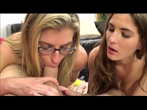 Mom Makes Daughter Suck