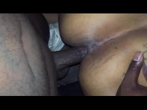 Ebony Big Booty Cumshot