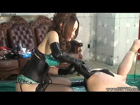 Japanese slut Dominatrix Anal fetish Big dildo