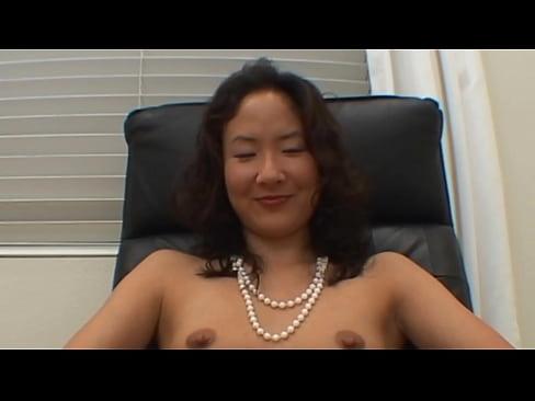 Asian girl licking cock's Thumb